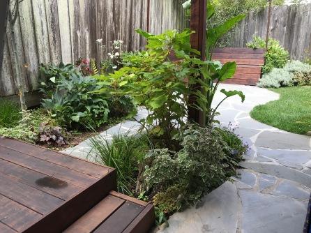 A.Fairmount.mature deck and patio