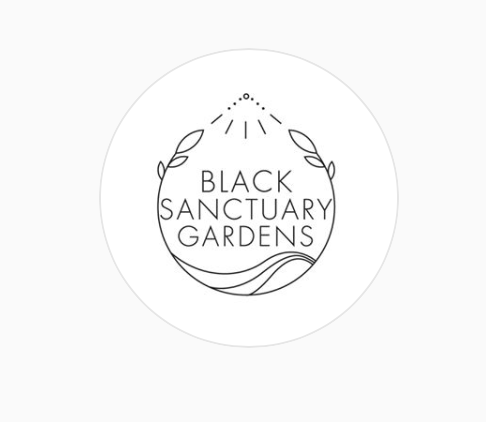 Black Sanctuary Gardens logo